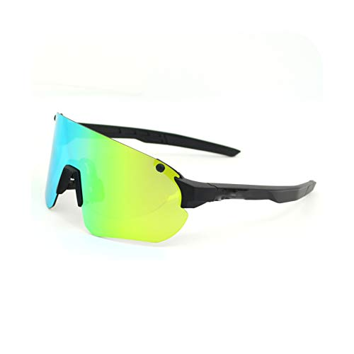 Sports Men Sunglasses Road Cycling Glasses Mountain Bike Bicycle Riding Protection Goggles Eyewear Sport Sunglasses,08,Blue ()