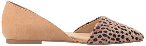 Pointed Women's Cheetah Chinese CL Toe Hearty by Flat Laundry ZqznTx6Xv