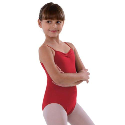 So Danca Red Pinched Neckline Dance Leotard Toddler Girls 2-4T - Pinched Neckline Dance Leotard