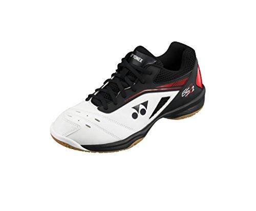 Badminton Shoes Yonex (Yonex Power Cushion SHB-65 R2 Men White/Red/Black (8.0))