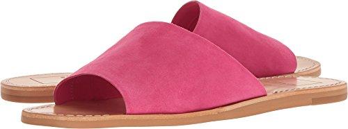 Fuchsia Slides - Dolce Vita Women's Cato Slide Sandal, Fuchsia Suede, 8 M US