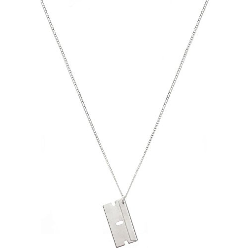 Straight Cutter Razor Necklace Earrings product image