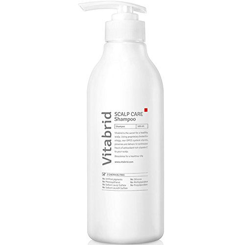 Vitabrid C12 hair growth Shampoo - hair loss prevention, stronger hair and regrowth, making scalp healthier by improving blood flow by Vitabrid