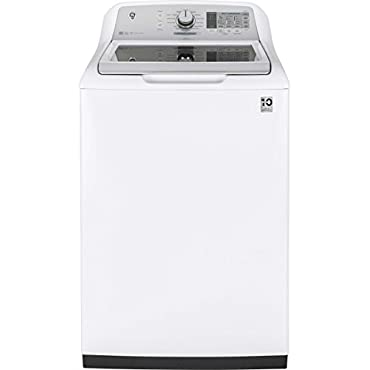 GE GTW750CSLWS 27 Inch Top Load Washer with 5 cu. ft. Capacity, in White