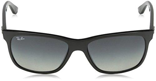 Noir Black Ray 601 de Ban soleil Lunettes Crystal 4181 Grey mixte Azure 71 8w8rz1