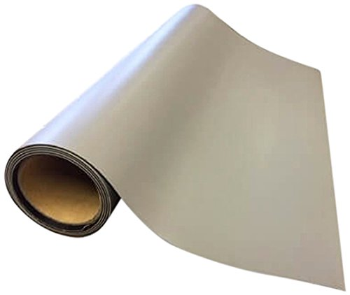 Bertech ESD High Temperature Rubber Mat Roll, 2.5' Wide x 20' Long x 0.06'' Thick, Gray, Made in USA by Bertech