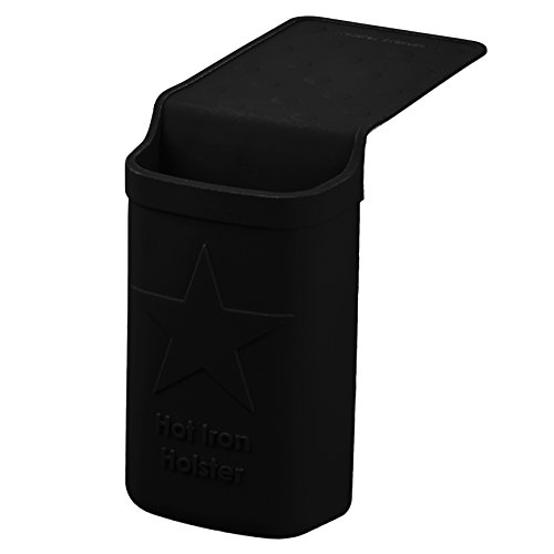 Holster Brands Hot Iron Holster Original | Black (Silicone Flat Iron Holder compare prices)
