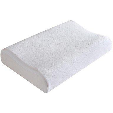 POLOWOI メモリネックピローヘッドレストベッド枕、はい、アイボリー B077M5DS3M Ivory