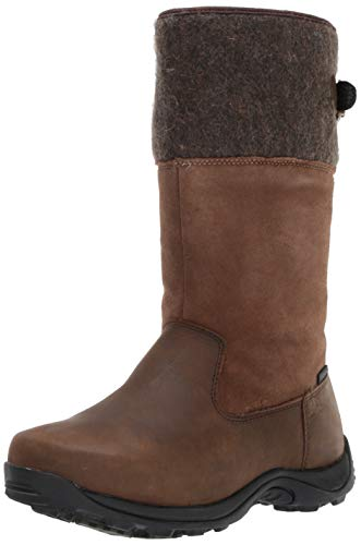 s Denmark Mid Calf Boot, Brown, 9 Medium US ()
