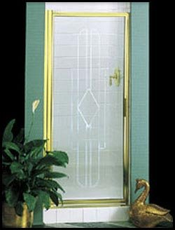Basco Deluxe Hinged Shower Door 110 8 Rf Or 63 X33 34 1 8