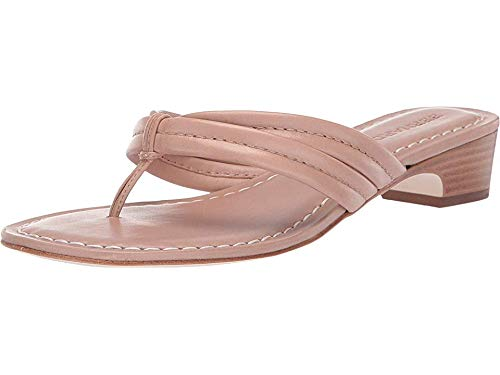 Bernardo Women's Miami Demi Heel Sandals Blush Antique Calf 9 M US