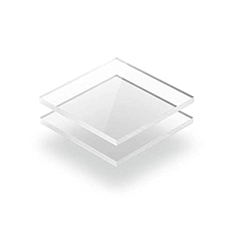 2mm im Zuschnitt Kunststoffplattenonline.de 40 x 40 cm Acrylgas XT Platten//Acrylglasplatten XT 400 x 400 mm Transparent