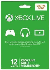 Used, Microsoft-Xbox Live 12 Month Gold Membership - Digital for sale  Delivered anywhere in USA