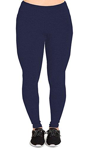 Womens Cotton Length Capri Leggings