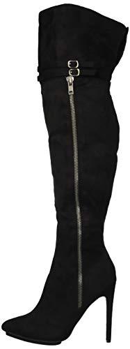 - Michael Antonio Women's Katerina-sue Knee High Boot, Black, 6.5 M US