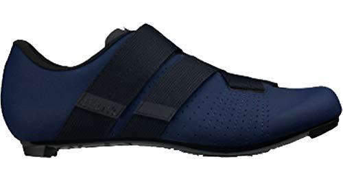 Fizik Tempo R5 Powerstrap Cycling Shoe, Navy/Black - 39.5, Navy/Black