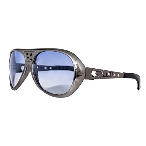 (Adult Halloween Elvis Costume Cosplay Accessory Glasses (Silver))