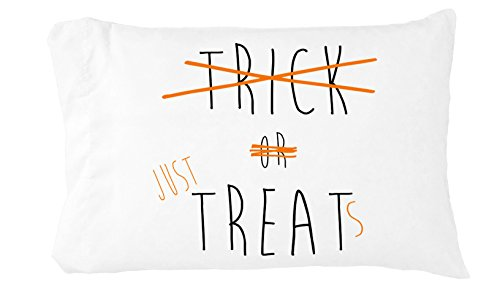 Oh, Susannah Trick or Just Treats Toddler Pillowcase (1 14 X 20.5 inch, Black, Orange) (Ghost Pretzels Halloween)
