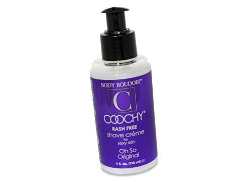 - Coochy Water Based Shave Cream Skin Protection OH SO ORIGINAL (Safe for All Body Parts Including Face and Intimate Areas) - Size 4 Oz