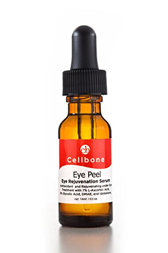 Eye Peel - Cellbone Eye Peel - Eye Rejuvenation Serum with 3% Glycolic Acid, 7% L-Ascorbic Acid, and Idebenone