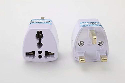 Sandin 2PCS Travel Adapter Plug-UK Standard