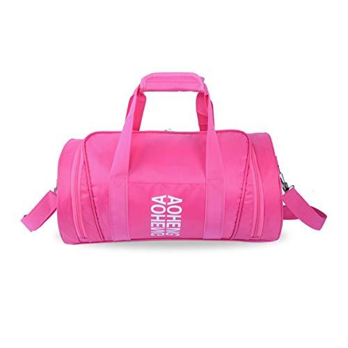 Tivolii deportes al aire libre bolsa de gimnasio equipaje de viaje bolsos paquete del cilindro bolsa mujeres hombres para...