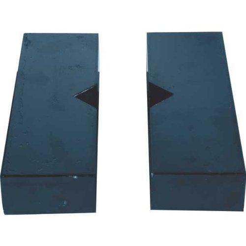 BVA Hydraulics AP100 100 Ton Shop Press Arbor Plates (Ton 100 Shop Press)