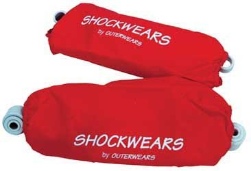 Outerwears 88-06 Yamaha Blaster Shockwears Front Shock Covers (Front/Red) ()
