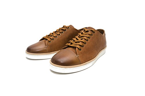 Delicious Junction Gabicci Tate Leather Trainer Tan cheap 100% authentic cheap price free shipping clearance popular outlet store online mhDLU