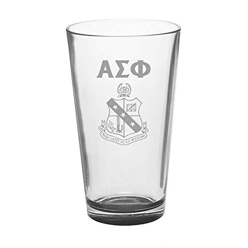 (Greekgear Alpha Sigma Phi Mixing Glass Transparent)