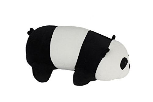 Nappy Plush Cute Panda Pillow - Stuffed Cotton Soft Fluffy Animal Toy 15 inches (Medium) Gift for Children/ Birthdays/ Holidays/ by Nappy