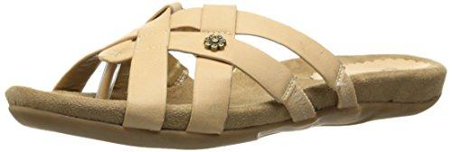 Annie Shoes Womens Suzette Dress Sandal Natural