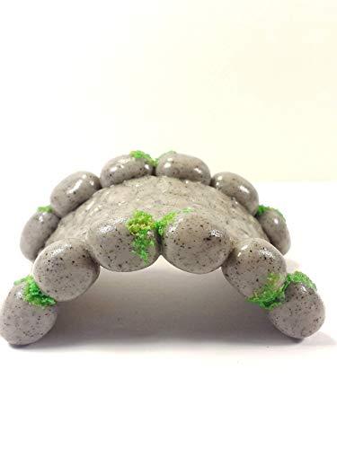 Miniature stone bridge. Fairy garden accessories, dollhouse, terrarium ()