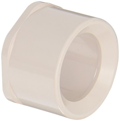 Spears 437-UV Series PVC Pipe Fitting, UltraViolet Resistant, Bushing, Schedule 40, 2
