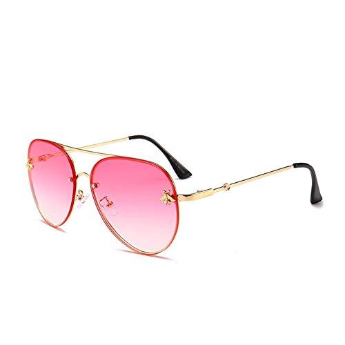 142 sol mm 140 abeja de versátiles de personalidad Gafas F moda gafas sol de NIFG 60 de wqOxSZEF