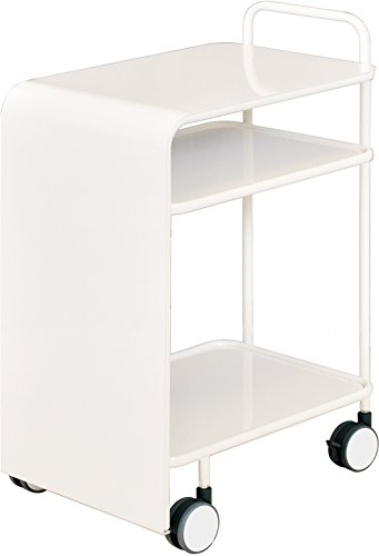 キッチンワゴン [kakusu] (ホワイト) B00OEKXTY6 ホワイト ホワイト