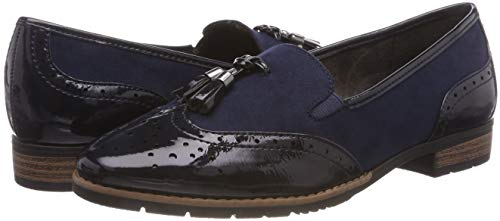 Women''s Blue 805 Softline navy 21 24260 Loafers TYBdwqI6d