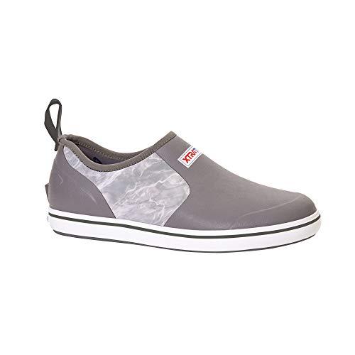 Xtratuf Sharkbyte Men's Deck Shoes, Mossy Oak Bone Fish (XMDS-BOF) ()