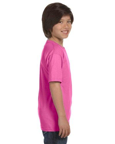 Trendy Youth T-shirts (Gildan Dryblend Youth T-Shirt, Azalea, Large)