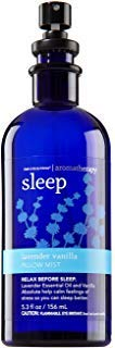 Bath and Body Works Aromatherapy Pillow Mist Lavender Vanilla (Retired Fragrance) 5.3 Fl Oz