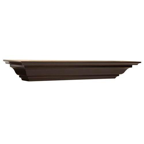 Woodland Home Décor CMS36E 36-Inch Espresso Crown Moulding Shelf by Woodland Home Décor