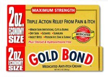 Gold Bond, Maximum Strength, Medicated Anti-Itch Cream - 2 Oz, Pack of 6 by CHATTEM LABS