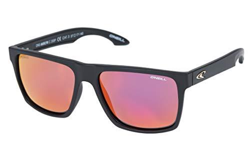 - O'Neill Harlyn Polarized Square Sunglasses, Matte Black, 56 mm