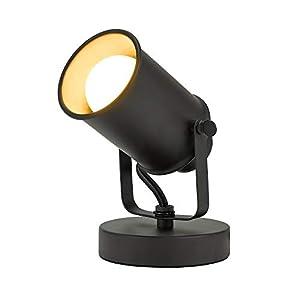 Catalina Lighting 18775-012 Contemporary Hollywood Adjustable Metal Accent Spotlight, 6″, Bronze