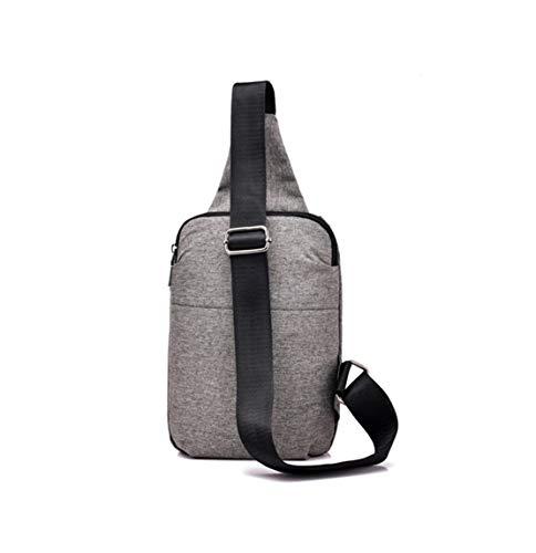 Multifunzione Borsa Piccola Zaini Grigio tracolla sportiva Business Corsa Bag Sport zaino Casual Outdoor a Man Pech Mnory spalla f4wpBqYq