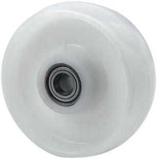 Rueda transpaleta rodillo nylon 200x50 mm 750 Kg Blanco