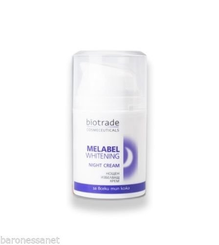 Biotrade Melabel Whitening Night Cream 50ml Care the Skin