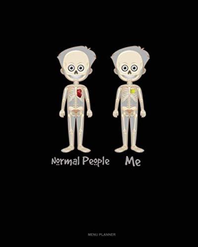 Normal People Me: Menu Planner -