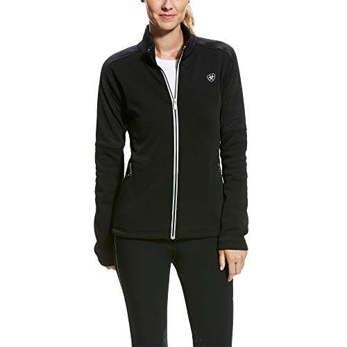 ARIAT Women's Sonar Full Zip Jacket Black Reflective Size XL