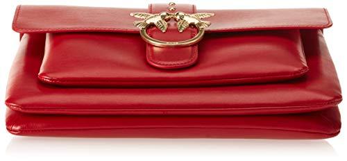 Jolly Rouge Vitello Love Big Rosso Simply épaule Seta Sacs Pinko Tracolla portés gP7pwzq